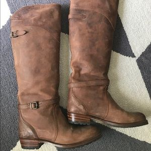 Frye Dorado Lug riding boots 9.5